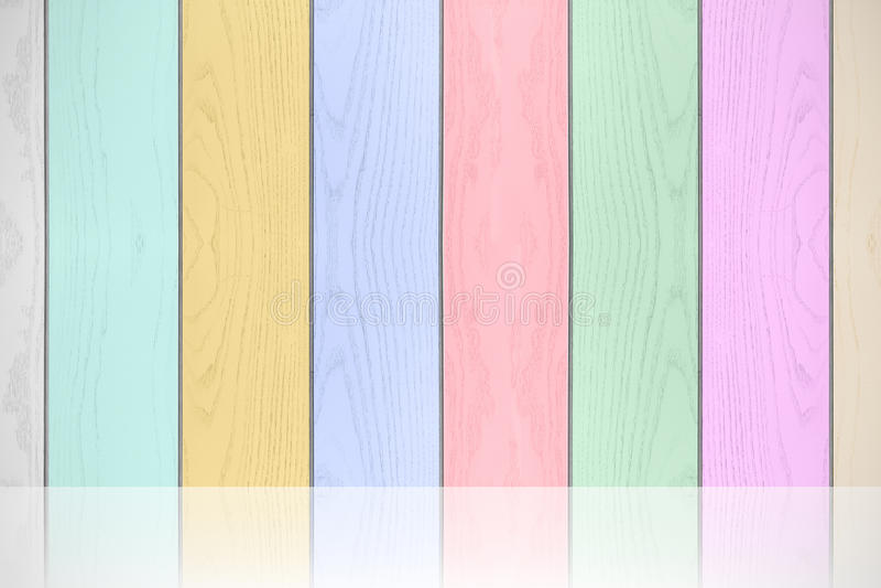 Kolorowej pastel drewnianej tekstury horyzontalny tło obrazy royalty free