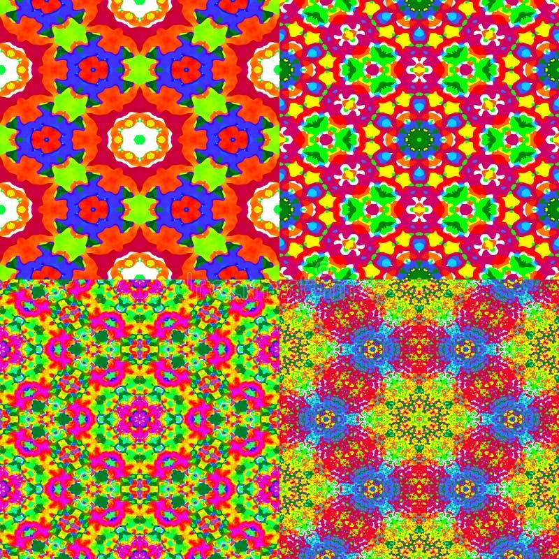 4 kolorowej tekstury obraz royalty free
