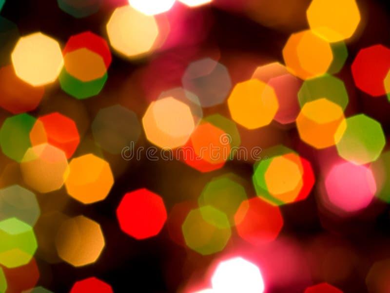 kolorowi światła zdjęcia stock