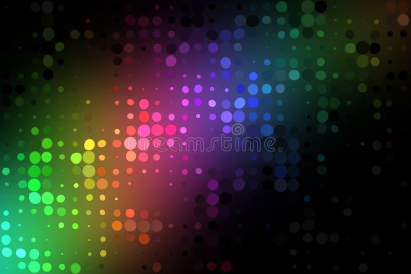 kolorowi światła ilustracja wektor