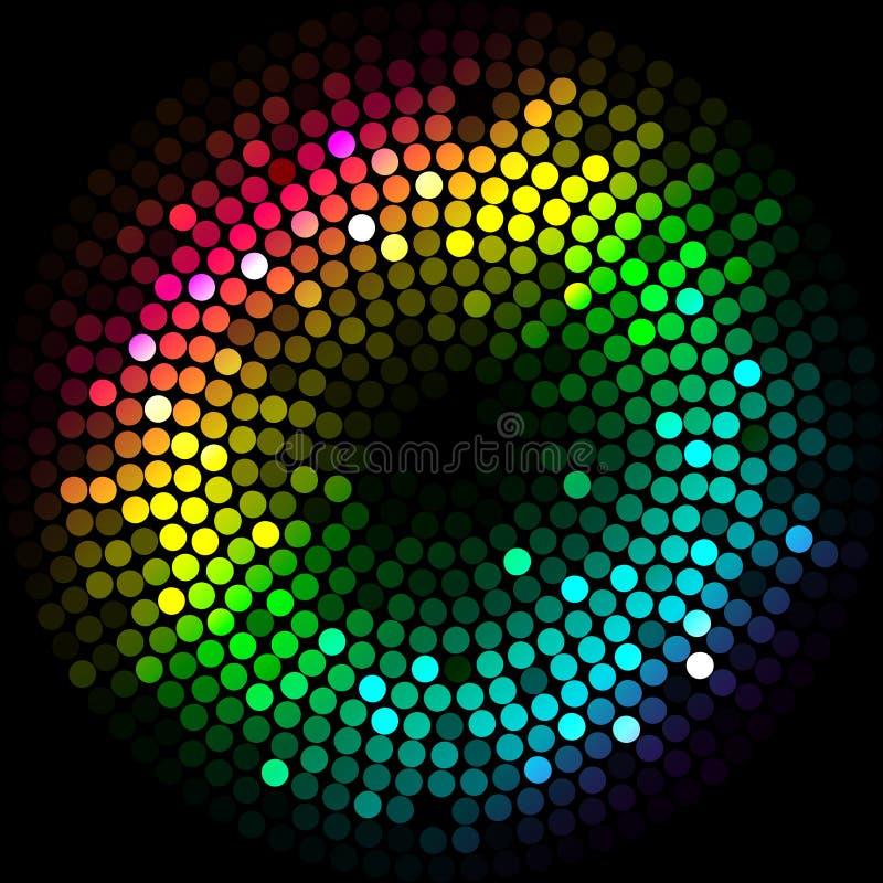 Kolorowi światła ilustracji