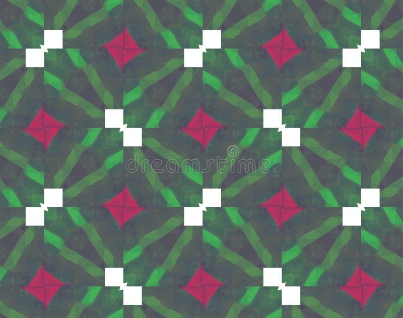 Kolorowi abstrakcjonistyczni neonowi kształty Abstrakcjonistyczna Futurystyczna tapeta ilustracja wektor
