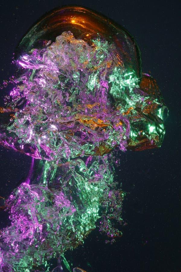 Kolorowi bąble fotografia royalty free