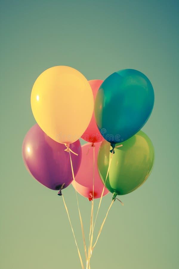 Kolorowi balony obrazy stock
