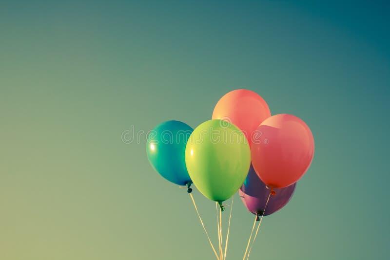 Kolorowi balony obraz stock