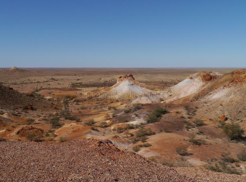 Kolorowi Breakaways w Australia obraz stock