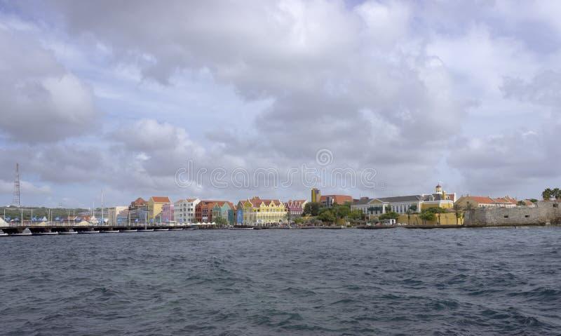 Kolorowi budynki i zdjęcie royalty free