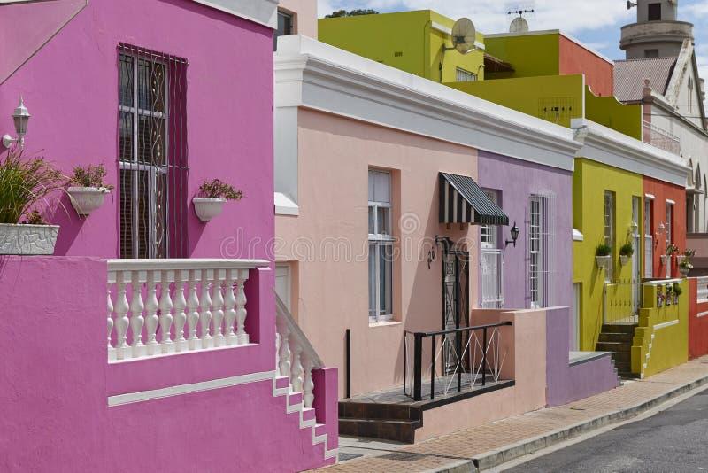 Kolorowi budynki w bo zdjęcie stock