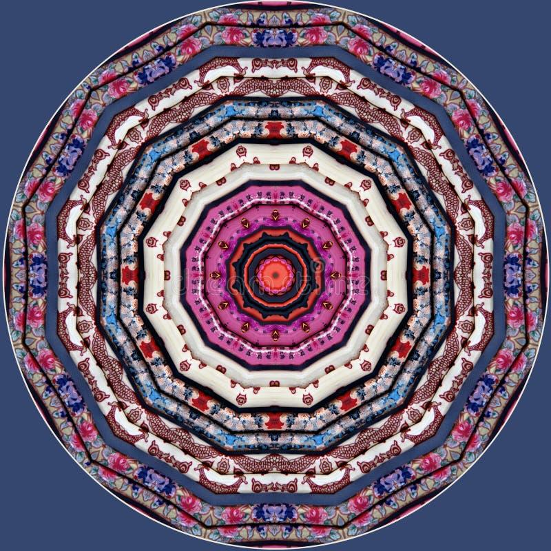 Kolorowi chińscy chopsticks widzieć przez kalejdoskopu royalty ilustracja