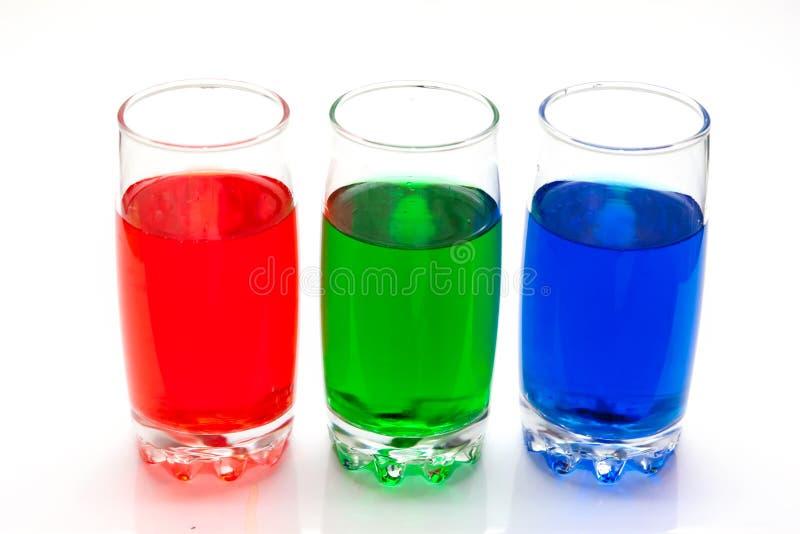 Download Kolorowi ciecze zdjęcie stock. Obraz złożonej z rząd - 28969102