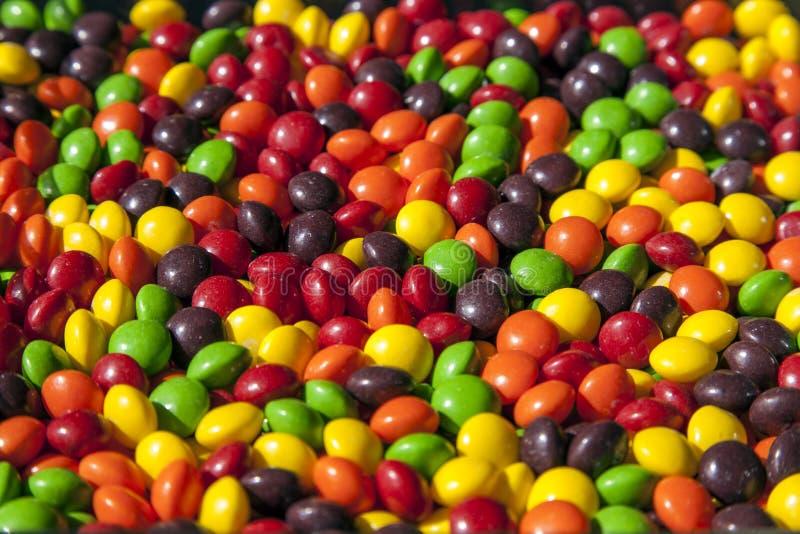 Kolorowi cukierki zdjęcia royalty free