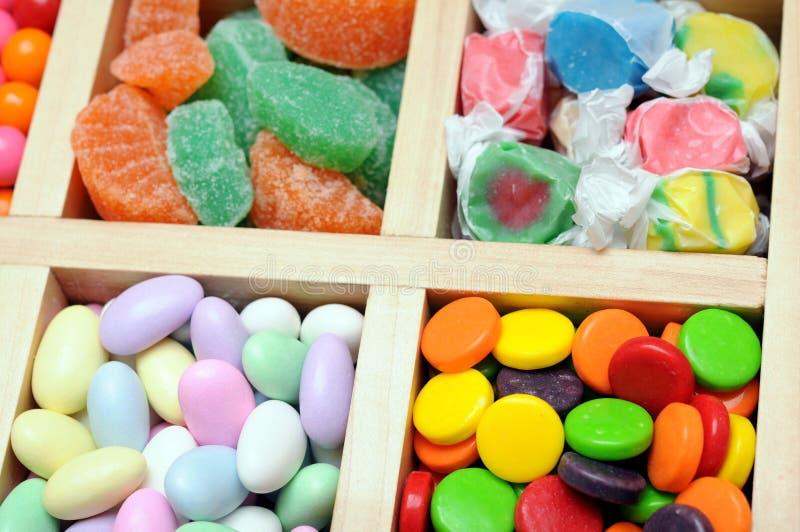 Kolorowi cukierki ja obrazy royalty free