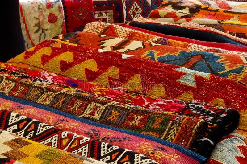 Kolorowi dywany fotografia stock