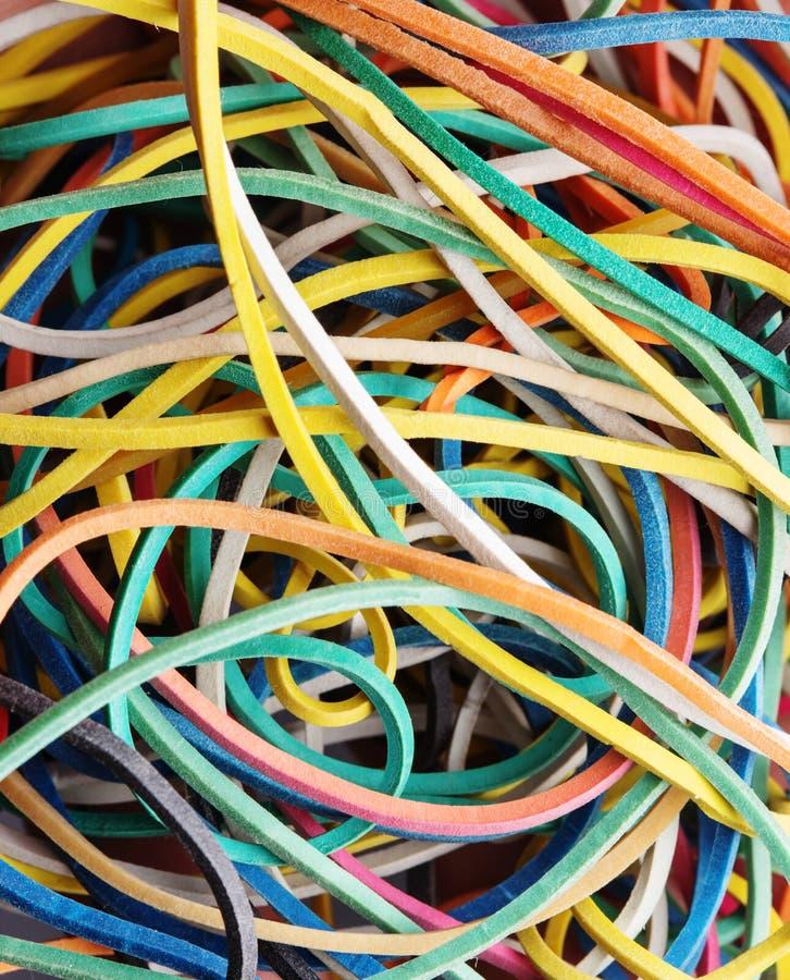 Download Kolorowi Elastyczni Zespoły Zdjęcie Stock - Obraz złożonej z arte, błękitny: 53787152