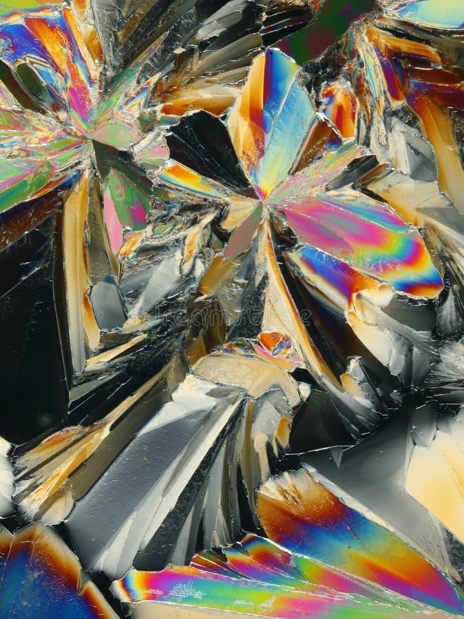 Kolorowi Kryształy Obrazy Royalty Free