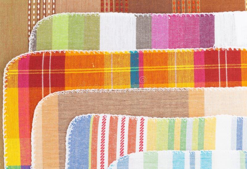 kolorowi kuchenni ręczniki fotografia royalty free