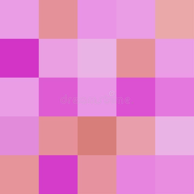 Kolorowi kwadraty barwią purpurowego brąz, blokowy miękki pastelowy jaskrawy royalty ilustracja