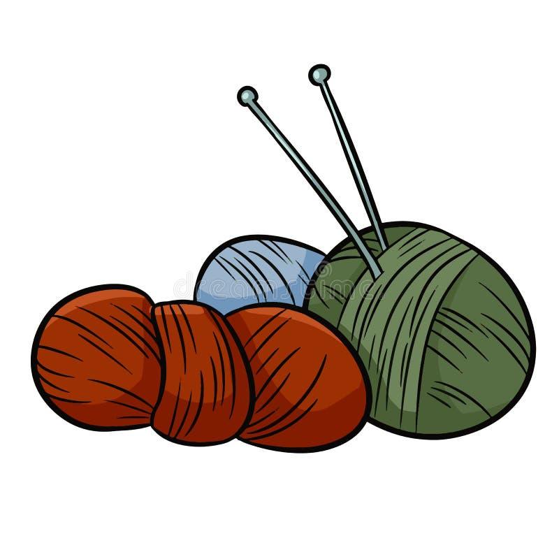 Kolorowi przędz doodles Dla druku, logo, kreatywnie projekt r?wnie? zwr?ci? corel ilustracji wektora ilustracji