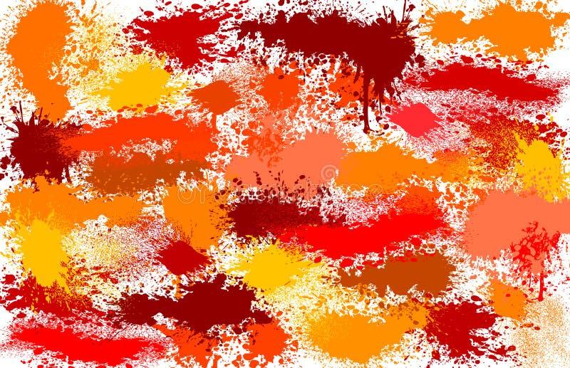 kolorowi punkty ilustracja wektor