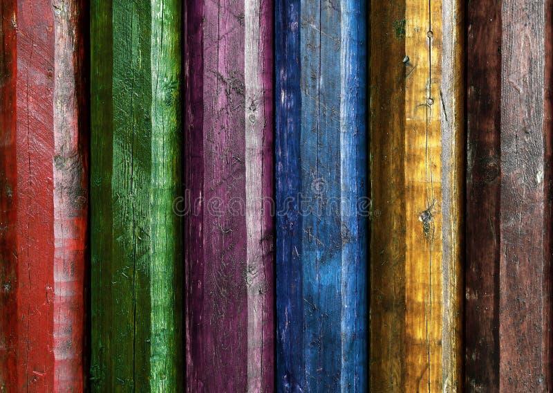 Kolorowi słupy zdjęcia stock