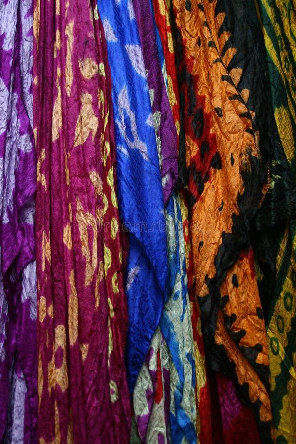 Kolorowi Scarves i Pashminas zdjęcia stock
