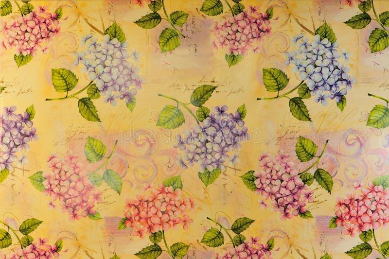 kolorowi tło kwiaty zdjęcie royalty free