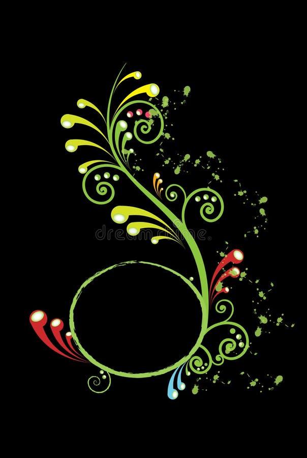 kolorowi zawijasy ilustracja wektor