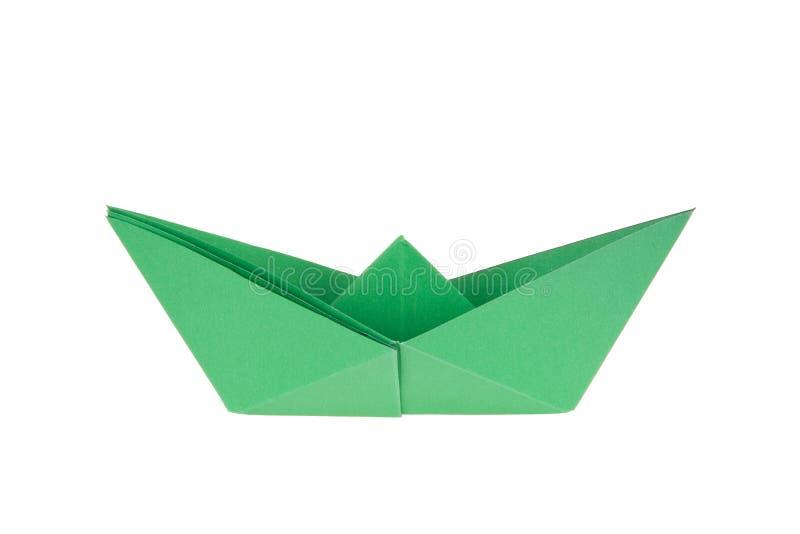 kolorowy łódź papier zdjęcie stock