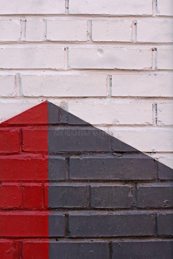 Kolorowy ściana z cegieł jako tło, tekstura obraz royalty free