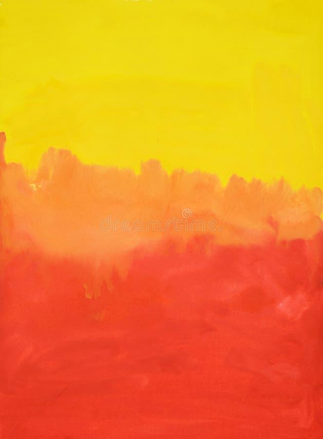 Kolorowy abstrakcjonistyczny akwareli tło  royalty ilustracja