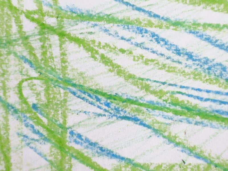 Kolorowy abstrakcjonistyczny dziecko rysunek ilustracji
