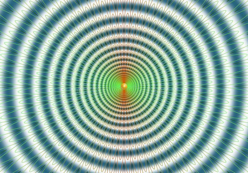 Kolorowy abstrakcjonistyczny hipnotyczny abstrakcjonistyczny tło obraz stock