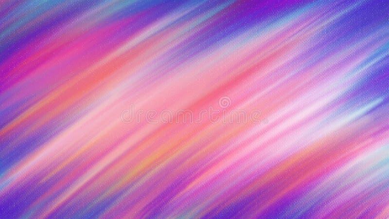 Kolorowy Abstrakcjonistyczny obraz olejny na brezentowym tle tapetowy sztuka projekt royalty ilustracja
