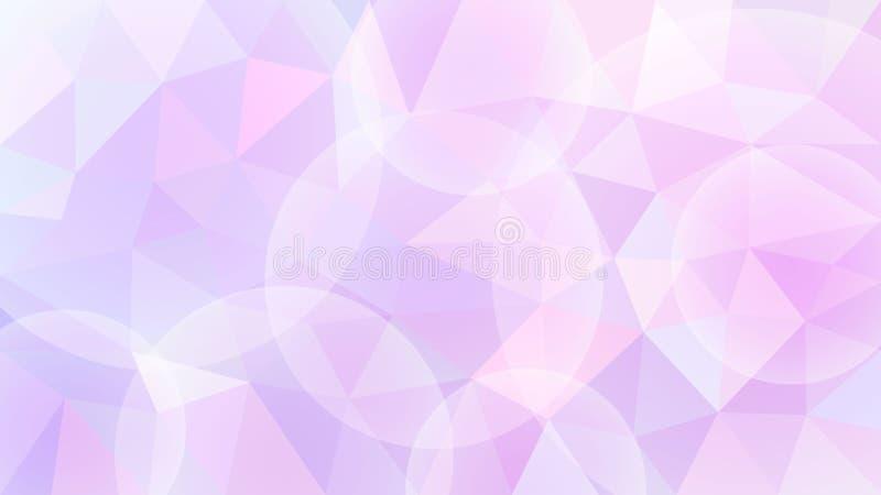 Kolorowy abstrakcjonistyczny poligonalny mozaiki tło również zwrócić corel ilustracji wektora royalty ilustracja