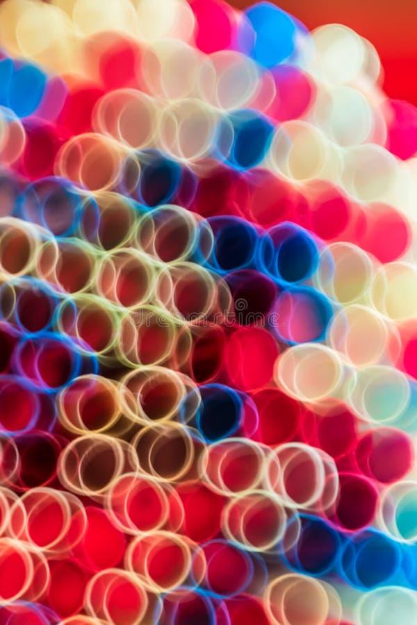 Kolorowy Abstrakcjonistyczny tło Okrąża teksturę zdjęcia royalty free