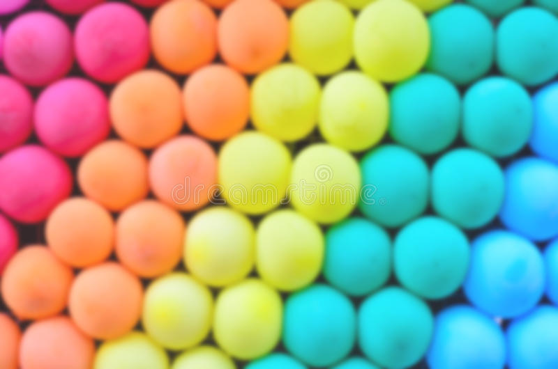 Kolorowy abstrakt zamazuje balony zdjęcia stock