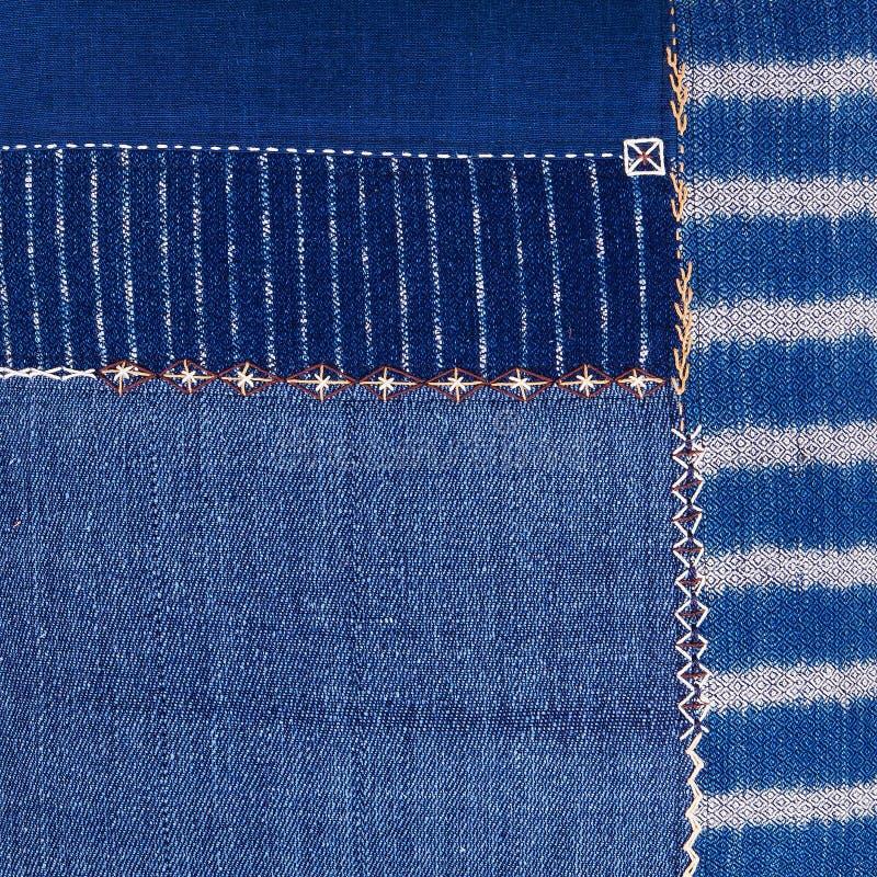 Kolorowy afrykański peruvian stylu dywanika powierzchni zakończenie up fotografia stock
