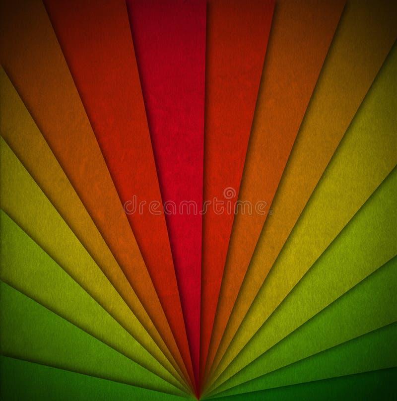Kolorowy Aksamitny Abstrakcjonistyczny tło ilustracja wektor