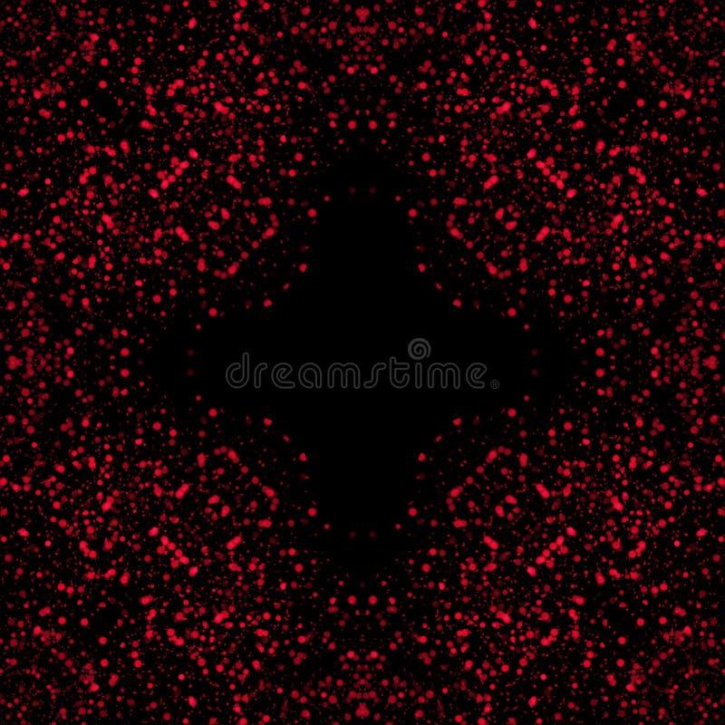 Kolorowy błyskotliwości tło dla stron internetowych lub prezentacji, świętowania, boże narodzenie dekoracja z czarnym tłem ilustracji