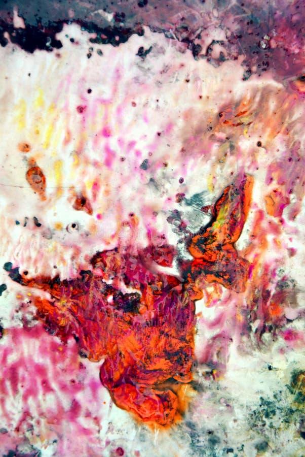 Kolorowy błyszczący żywy tło, malujący akwareli tło, maluje abstrakcjonistycznych kolory obrazy stock