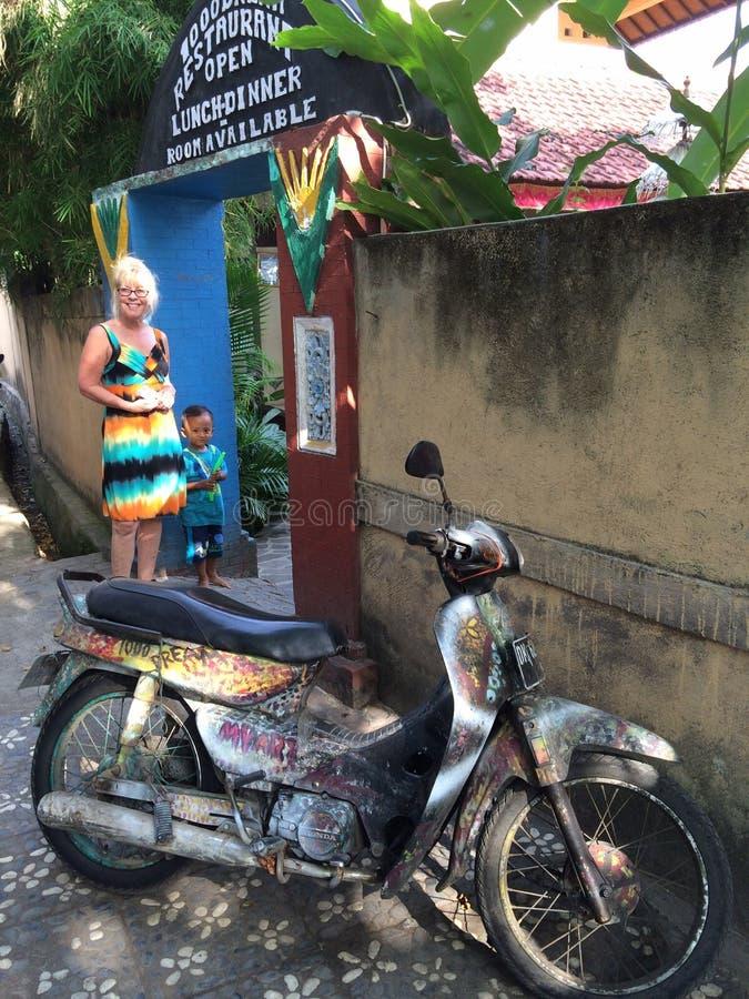 Kolorowy Bali zdjęcia royalty free