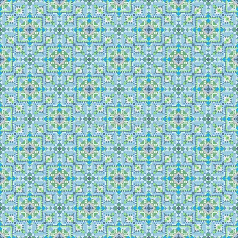 Kolorowy bezszwowy wzór dla tło i projekta ilustracja wektor