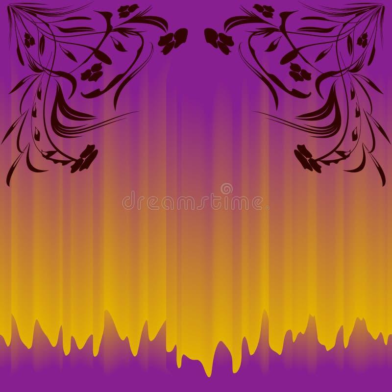Kolorowy bezszwowy wzór dla tło i projekta 300 kwiecisty abstrakcjonistyczny dpi eps folował grafika zawierać jpg wzór rosnący V8 ilustracji