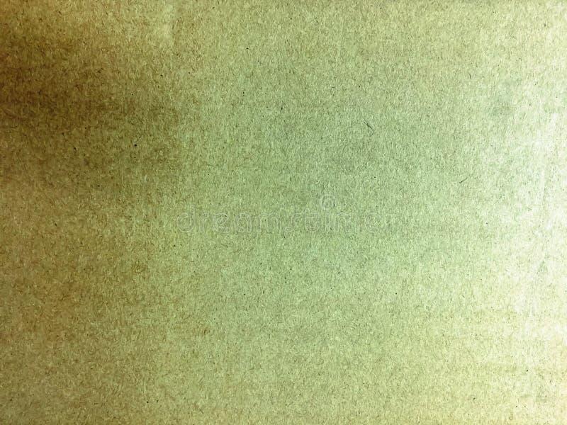 Kolorowy Brown papieru tekstury tło z monitoru słowem obrazy stock