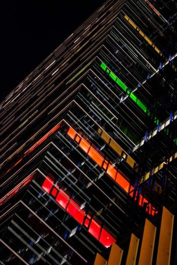 Kolorowy budynku wzór obrazy royalty free
