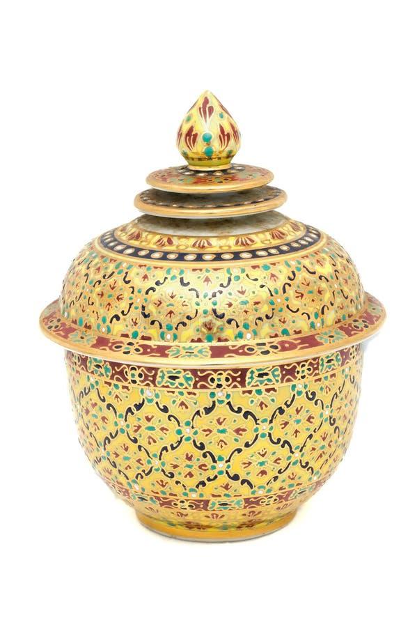 Kolorowy ceramiczny artykuły zdjęcia royalty free