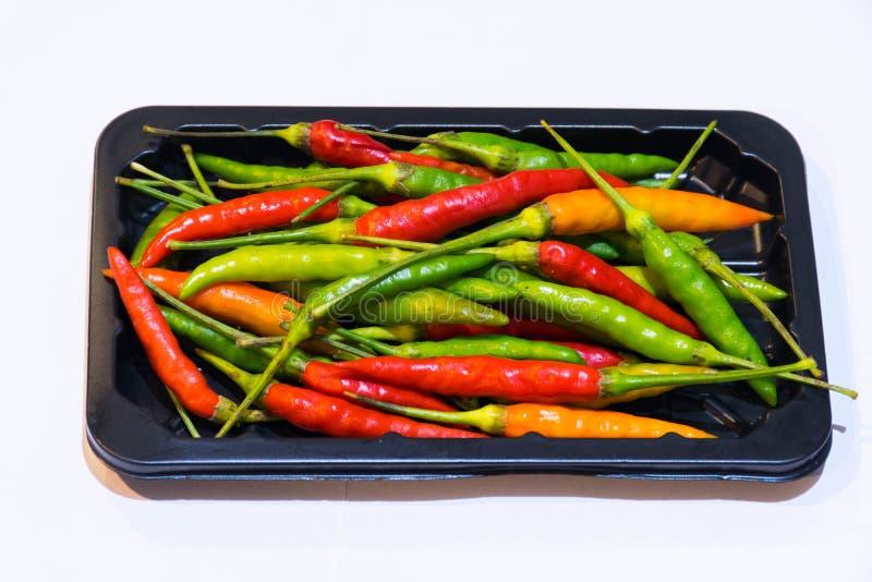 Kolorowy chili fotografia stock