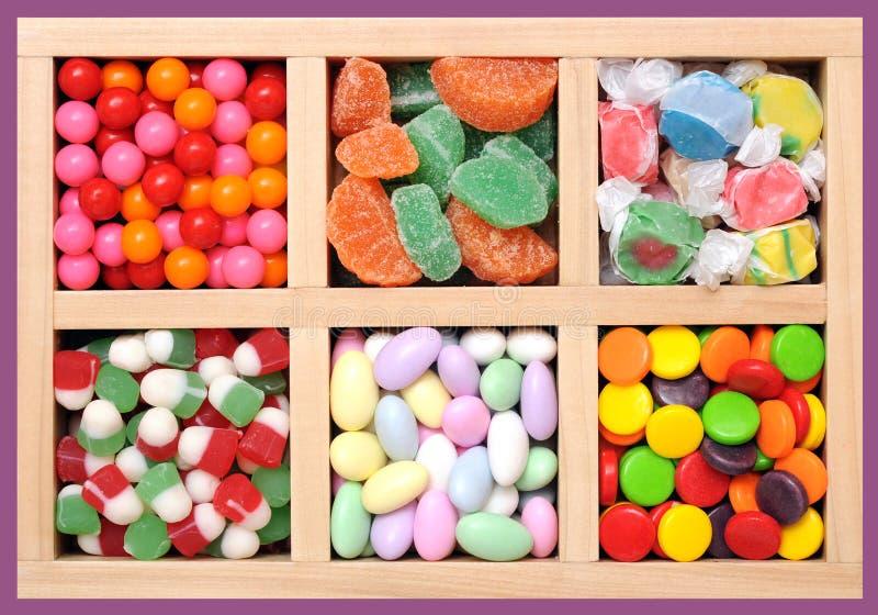 Kolorowy cukierek zdjęcie stock
