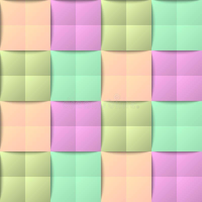 kolorowy deseniowy bezszwowy obraz stock