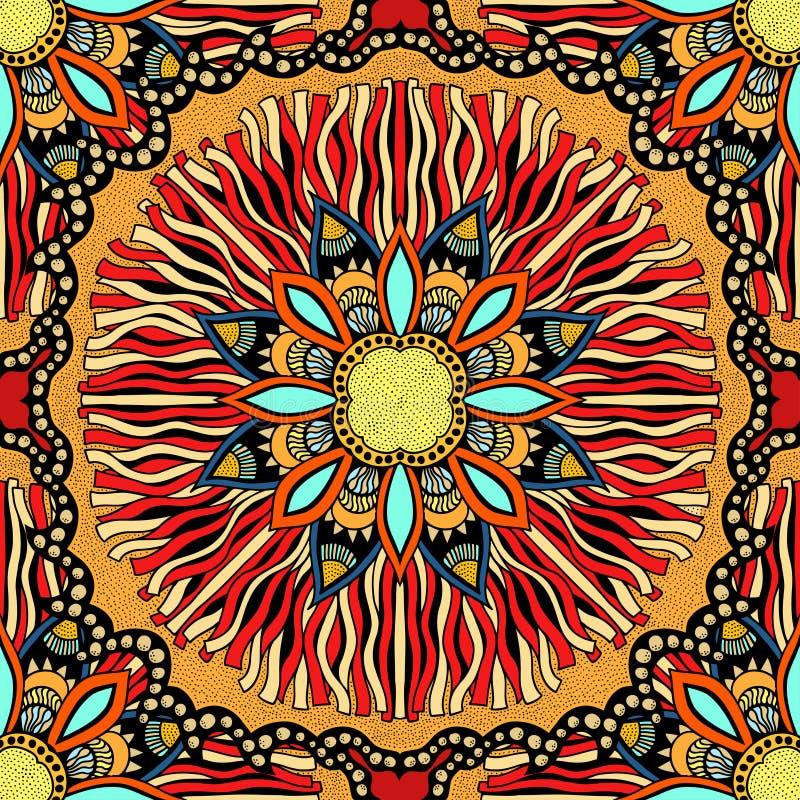 kolorowy deseniowy bezszwowy wektor ilustracja wektor
